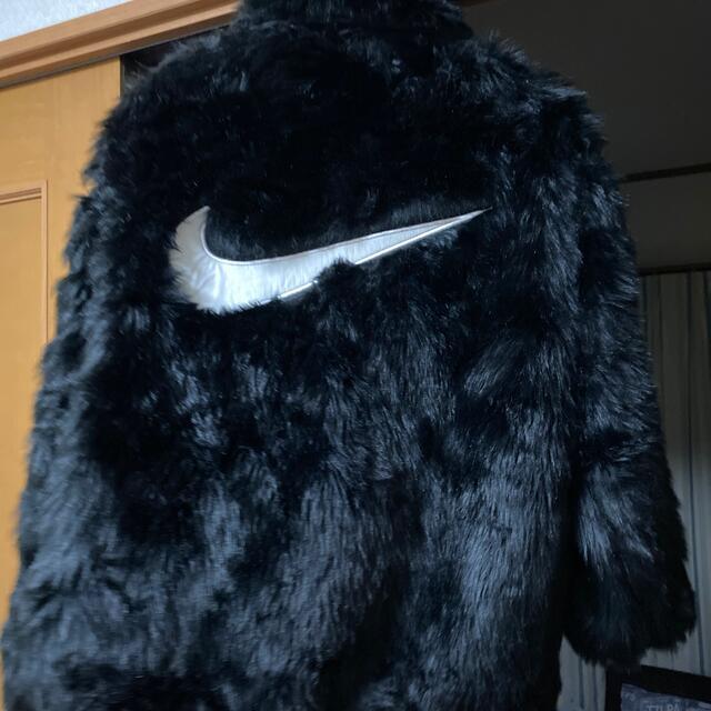 AMBUSH(アンブッシュ)のNIKE AMBUSH ファーコート レディースのジャケット/アウター(毛皮/ファーコート)の商品写真