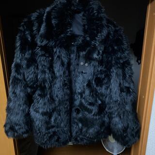 アンブッシュ(AMBUSH)のNIKE AMBUSH ファーコート(毛皮/ファーコート)