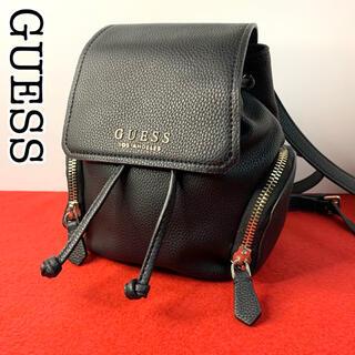 GUESS - 【GUESS】ゲス バッグパック ミニリュック タグ付き ゆめかわいい ブラック