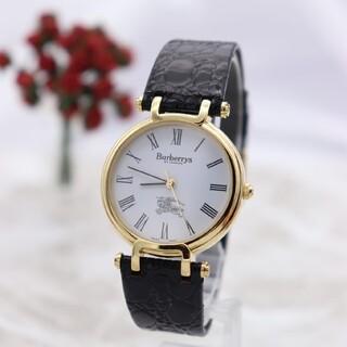 バーバリー(BURBERRY)の正規品【新品電池】BURBERRY 3200/動作品 ボーイズ ウィメンズ(腕時計(アナログ))