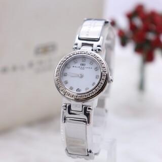 バレンシアガ(Balenciaga)の正規品【新品電池】BALENCIAGA/0456 動作良好 人気モデル ホワイト(腕時計)