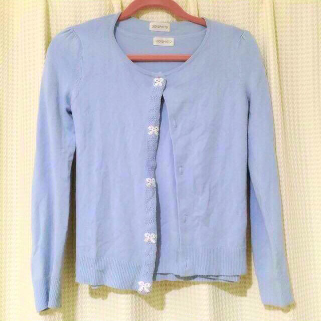 LODISPOTTO(ロディスポット)のブルーが綺麗なアンサンブル♡ レディースのトップス(アンサンブル)の商品写真