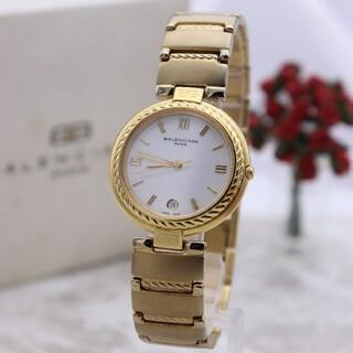 バレンシアガ(Balenciaga)のほぼ未使用【新品電池】BALENCIAGA/18KT 動作良好 ボーイズ 美品(腕時計(アナログ))