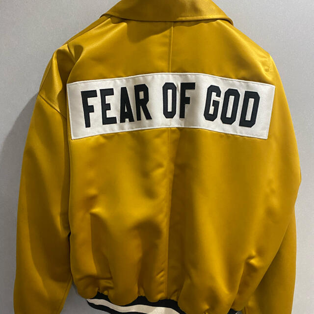 FEAR OF GOD(フィアオブゴッド)のfear of god サテンジャケット メンズのジャケット/アウター(ブルゾン)の商品写真