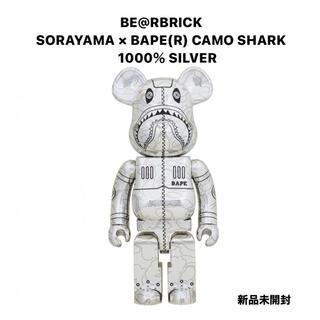 メディコムトイ(MEDICOM TOY)のBE@RBRICK SORAYAMA × BAPE(R) CAMO SHARK(その他)