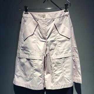 ジルサンダー(Jil Sander)の【最終処分価格】JIL SANDER NAVY ショートパンツ 裾広(ショートパンツ)