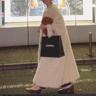 ステュディオス(STUDIOUS)の【たこたこ様専用】CLANE CURL LICO FUR COAT(ロングコート)