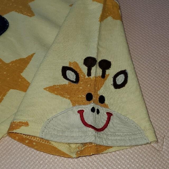 rough(ラフ)のラフ キリンと星 Tシャツ  レディースのトップス(Tシャツ(半袖/袖なし))の商品写真