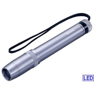 パナソニック(Panasonic)のPanasonic メタルライトスリム LED 高輝度白色 中古USED(ライト/ランタン)