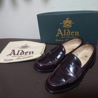 オールデン(Alden)のオールデン 99162 US6.0D コードバン ローファー(スリッポン/モカシン)