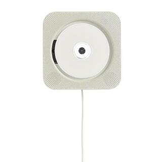 ムジルシリョウヒン(MUJI (無印良品))の無印良品 壁掛式 CDプレーヤー 新品未開封(ポータブルプレーヤー)