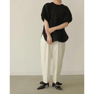 正規品 ローレン Louren puff sleeve over blouse(シャツ/ブラウス(半袖/袖なし))
