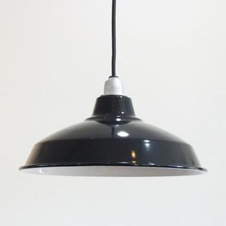 ACTUS - Pacific Furniture Service[black] ホーローランプ