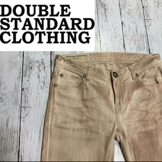 ダブルスタンダードクロージング(DOUBLE STANDARD CLOTHING)の【DOUBLE STANDARD CLOTHING】ストレッチデニムパンツ 38(デニム/ジーンズ)