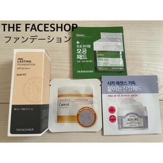 ザフェイスショップ(THE FACE SHOP)の新品 ザ フェイスショップ インク ラスティングファンデーション 203(ファンデーション)
