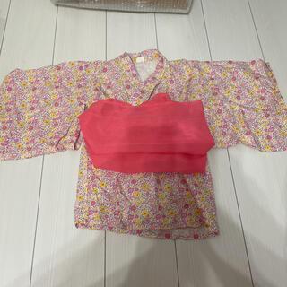しまむら - バースデイ 浴衣ドレス 甚平 女の子 90