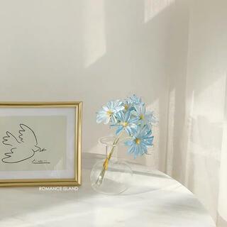 【新品未使用】ドライフラワー風 お花 フラワー インテリア ナチュラル 北欧(ドライフラワー)