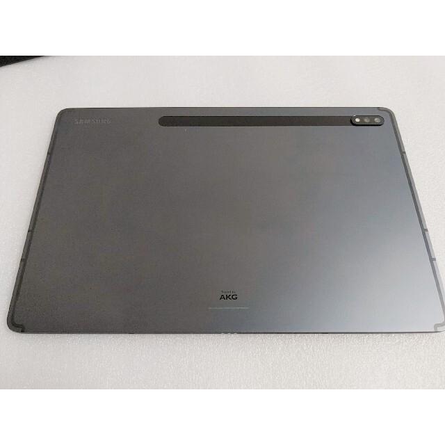 SAMSUNG(サムスン)のGalaxy tab s7+ 8GB/256GB SM-T970 Black スマホ/家電/カメラのPC/タブレット(タブレット)の商品写真