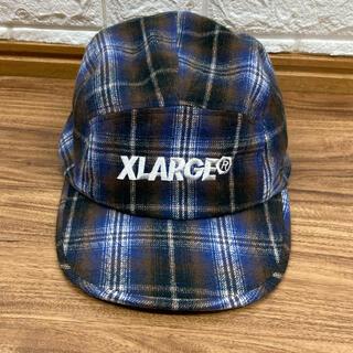 XLARGE - 極美品 XLARGE エクストララージ チェック柄 キャンプキャップ