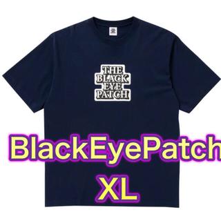 シュプリーム(Supreme)のブラックアイパッチ tee Tシャツ XL ネイビー(Tシャツ/カットソー(半袖/袖なし))