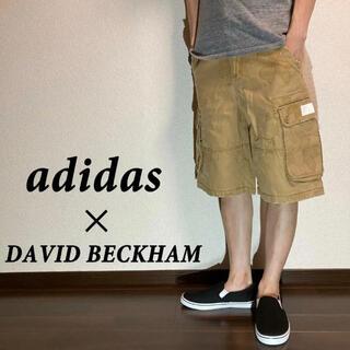 adidas - 【adidas】アディダス×デビッド・ベッカム コラボカーゴハーフパンツ