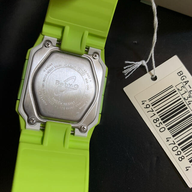 Baby-G(ベビージー)の【新品未使用】CASIO カシオ Baby-G  BGA-200-3EDR メンズの時計(腕時計(デジタル))の商品写真