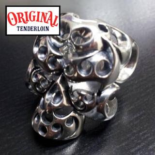 テンダーロイン(TENDERLOIN)のtenderloin テンダーロイン ボルネオスカル リング 指輪 骸骨(リング(指輪))