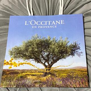 ロクシタン(L'OCCITANE)の2枚★小【ロクシタン】紙袋★ショッパー★ショップ袋(ショップ袋)