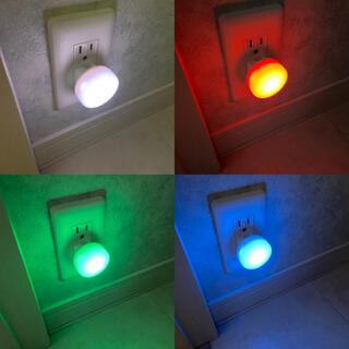 イケア(IKEA)の4個IKEA 明暗センサーLED ナイトライト 玄関、廊下照明 階段 足元ライト(その他)