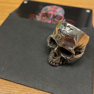 ガボール(Gabor)のGabor Large Skull Ring Without Jaw 19〜20(リング(指輪))