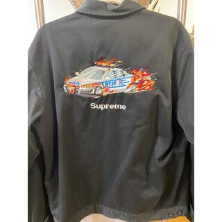 シュプリーム(Supreme)のsupreme cop car work  jacket(ライダースジャケット)