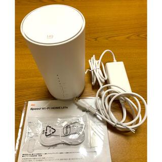 au Speed Wi-Fi HOME L01s HWS32(PC周辺機器)