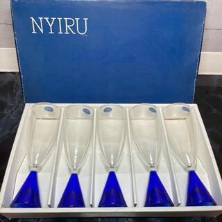 東洋佐々木ガラス - 佐々木ガラス ニール ワイングラス シャンパングラス 5客セット