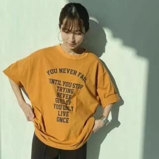 フレームワーク(FRAMeWORK)のFRAMeWORK フロントロゴハーフスリーブT 2◆(Tシャツ(半袖/袖なし))