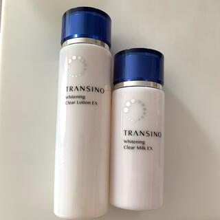 トランシーノ(TRANSINO)の新品 トランシーノ 化粧水 乳液 セット(化粧水/ローション)