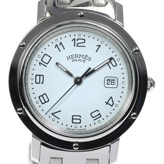 エルメス(Hermes)のエルメス クリッパー  CL4.410 クォーツ ボーイズ 【中古】(腕時計(アナログ))