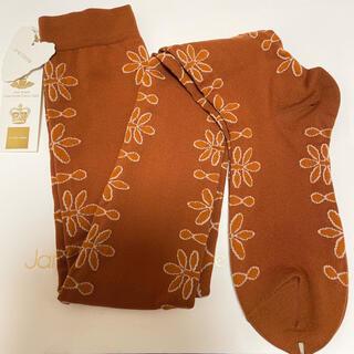 ジェーンマープル(JaneMarple)のジェーンマープル ツートン オーバーニーソックス 靴下(ソックス)