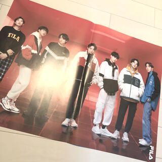 ボウダンショウネンダン(防弾少年団(BTS))のBTS・ V ・テヒョン・グク・ジョングク・韓国・海外・ポスター・FILA・(K-POP/アジア)