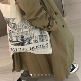 ハロッズ(Harrods)の日本未発売 新品 Daunt Books エコバッグ トートバッグ(エコバッグ)