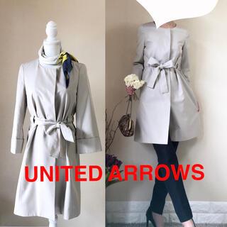 ユナイテッドアローズ(UNITED ARROWS)のUNITED ARROWS カラーレス トレンチコート 38 M ベージュ(トレンチコート)