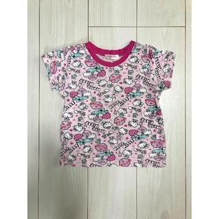 ハローキティ(ハローキティ)のキティ柄 Tシャツ 100(Tシャツ/カットソー)