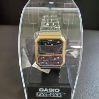 カシオ パックマンコラボ A100WEPC-1BJR(腕時計(デジタル))