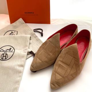 エルメス(Hermes)のHERMES # フラットシューズ(ローファー/革靴)