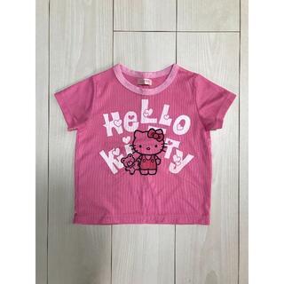 ハローキティ(ハローキティ)の【美品】キティ Tシャツ ポリエステル 100(Tシャツ/カットソー)