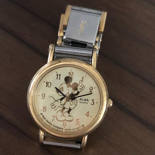 ALBA(アルバ)のミッキー 腕時計 シチズン アルバ 日本製 ディズニー レディースのファッション小物(腕時計)の商品写真