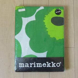 マリメッコ(marimekko)のマリメッコ DUVET COVER 布団カバー UNIKKO 緑 キングサイズ(シーツ/カバー)