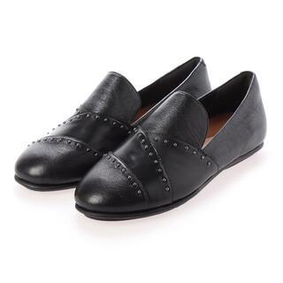 フィットフロップ(fitflop)のフィットフロップ/ ブラック ローファー(ローファー/革靴)
