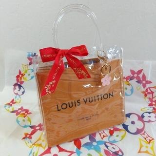 LOUIS VUITTON - 新品、未使用クリアバック(ブランドショッパー&ノーブランドチャーム付き)