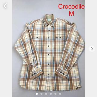 クロコダイル(Crocodile)のCROCODILE チェックシャツ 綿100%(シャツ)