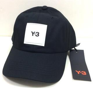 ワイスリー(Y-3)のY3 CAP Y3 cotton cap ブラック ワイスリー 新品(キャップ)